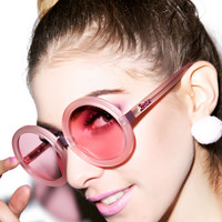 Wildfox Couture Malibu Barbie Sunglasses Barbie Rose One