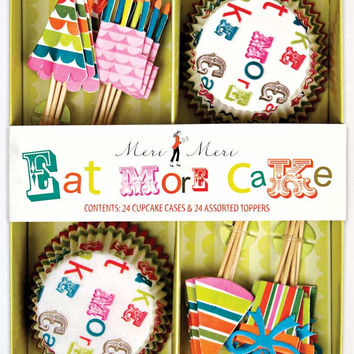 Eat More Cake Cupcake Kit