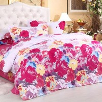Cotton four pieces bedding suite - BD0023 from House Beauty