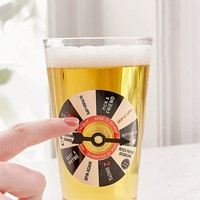 Spin It To Win It Pint Glass | Urban Outfitters