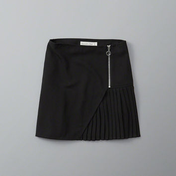 Womens Pleated A-Line Skirt | Womens New Arrivals | Abercrombie.com