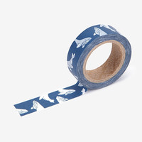 "Deco 0.59""X11yd masking tape single - Whale"