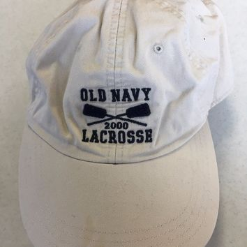 BRAND NEW OLD NAVY LACROSSE SMALL/MEDIUM HAT SHIPPING