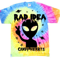Rad Idea Tie-Dye from Candy Hearts