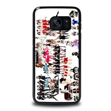 kpop girls samsung galaxy s7 edge case cover  number 1