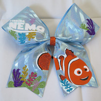 """3"""" Finding Nemo Cheer Bow"""