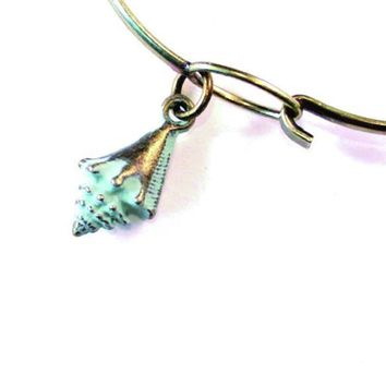 Conch Shell Charm