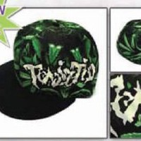 ICP Insane Clown Posse Twiztid Glow in the Dark Sub Print Hatchetman Logo Fitted Size (S/M) Hat Cap