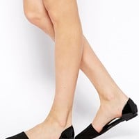 ASOS LITTLE ROCK Ballet Flats