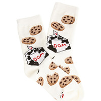 FOREVER 21 Moo Cookie Socks