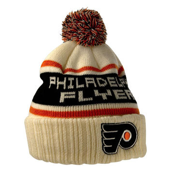 Philadelphia Flyers - Logo Pillow Line Adult Pom Pom Knit Hat
