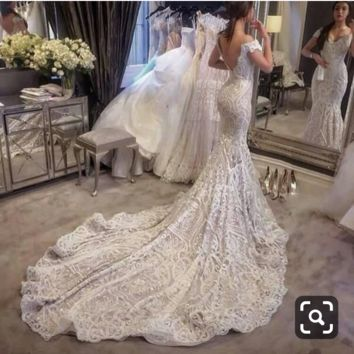 Yulissa Aplicano Wedding Dress