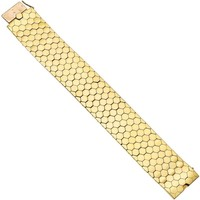 Van Cleef & Arpels Yellow Gold Ludo Hexagone Bracelet