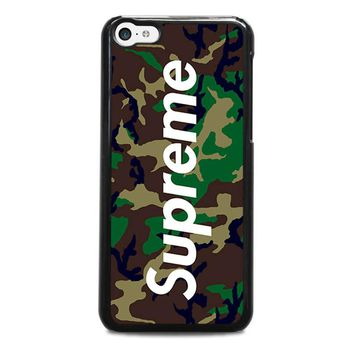 SUPREME CAMO iPhone 5C Case Cover