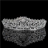 Wedding Hair Accessories Rhinestones Bridal Crowns Wedding Tiara Crown Diadem