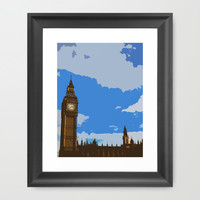 Big Ben Framed Art Print by cycreation