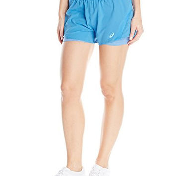 ASICS Women's 2-N-1 Woven 3-Inch Running Shorts