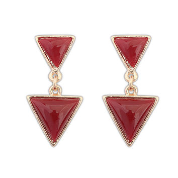 Vintage Punk Geometric Earrings [4918964548]