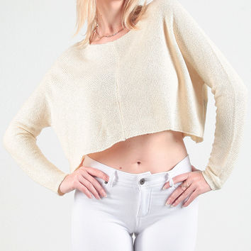 Olivia Cropped Pullover