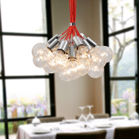 Contemporary Large Chandelier Max 760W with 19 Lights Plating Finish