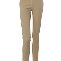 LE3NO Womens Fitted Dress Pants with Stretch (CLEARANCE)
