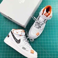 Just Do It Nike Air Force 1 Lv8 Mid Sport Shoes - Sale
