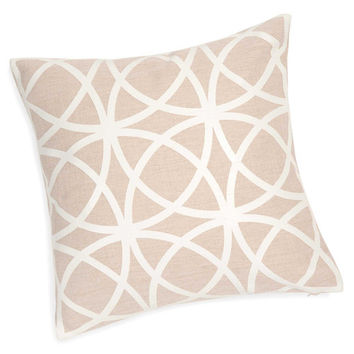 ABBY off-white cushion cover 40 x 40 cm | Maisons du Monde