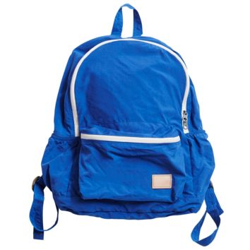 Nylon Packable Day Pack - Blue