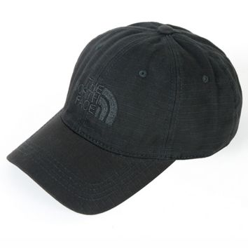 Black The North Face Embroidered Baseball Cap Hat