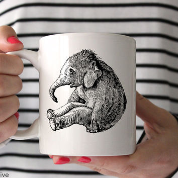 Elephant Baby Coffee Mug - A0001