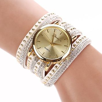 Luxury Rhinestone Bracelet Women Watch Quartz Watch Women Wristwatch Relogio Feminino Montre Femme Reloj Mujer