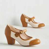 Referential Treatment Heel | Mod Retro Vintage Heels | ModCloth.com