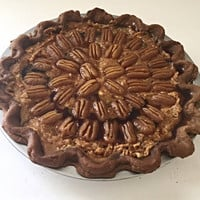 Primitive Fake Pecan Pie Scented Farmhouse Fake Food