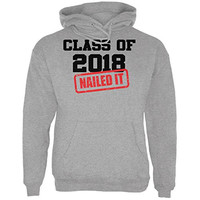 Graduation - Class of 2018 Nailed It Mens Hoodie
