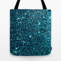 midnight blue sparkle Tote Bag by ingz