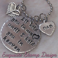 Sympathy Gift - Loss of Mother - Loss of Father - Loss of Loved One - Bereavement Gift - Hold You In My Heart - In Memory Of - Remembrance