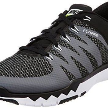 Nike Men's Free Trainer 5.0 V6 Black/White/Dark Grey/Volt Running Shoe 10 Men US