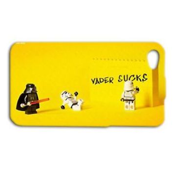 Star Wars Lego Darth Vader Funny Fun Case iPhone 4 4s 5 5s 5c 6 6s + Plus CUTE