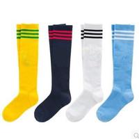 new children kids sports soccer socks Braces boys girls leggings Supports cotton football socks baby knee high socks ankle brace