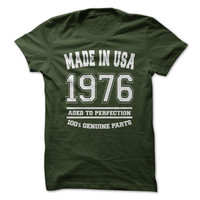 Made in USA 1976 All Genuine Parts