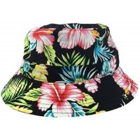 Hollywood Mirror | HAWAII BLACK FLORAL BUCKET HAT - HATS - ACCESSORIES