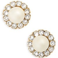 MARC JACOBS Imitation Pearl Stud Earrings | Nordstrom