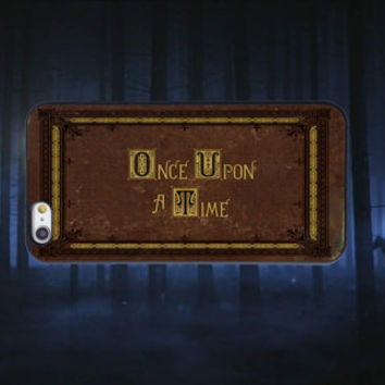 Once Upon a Time, Custom Phone Case for iPhone 4/4s, 5/5s, 6/6s, 6/6s+ and iPod Touch 5