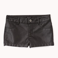 Rock Star Faux Leather Shorts