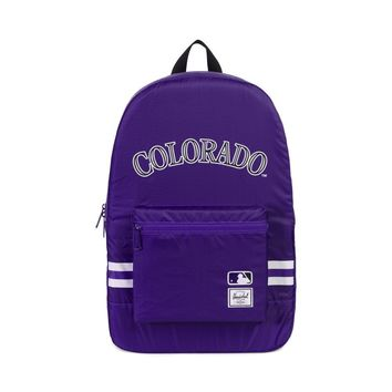 Herschel Supply Co. - Packable MLB 70D Poly Colorado Rockies Backpack