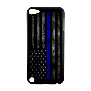 American Police Officer The Thin Blue Line iPod Touch 5 Case