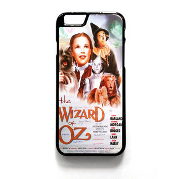 Wizard Of Oz Movie Poster iPhone 4 4S 5 5S 5C 6 6 Plus , iPod 4 5  , Samsung Galaxy S3 S4 S5 Note 3 Note 4 , and HTC One X M7 M8 Case