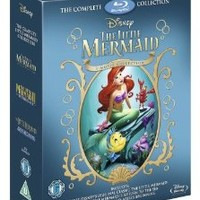 The Little Mermaid Collection / Little Mermaid / Return to the Sea /Ariel's Beginning Blu Ray