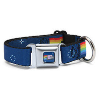 Nyan Cat Seatbelt Buckle Dog Collar