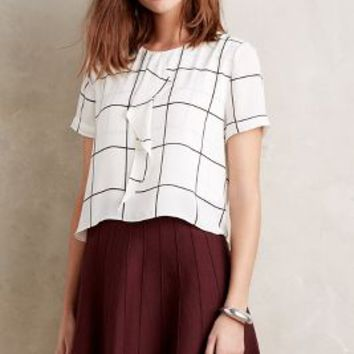 Sanctuary Grafico Blouse in Black & White Size: